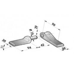 Gond – penture – fermeture - K100121