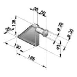 Gond – penture – fermeture - K100201