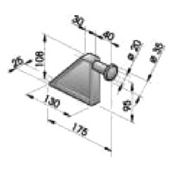 Gond – penture – fermeture - K100231