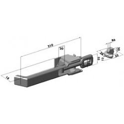 Gond – penture – fermeture - K100304
