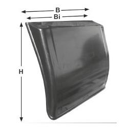 Garde-boue avec dispositif anti-dispersion d'eau intégré - C050156