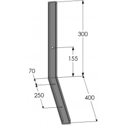 Supports de coffres - A350053