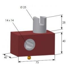 Tendeur de bâche Ø25mm - T050040