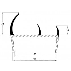 Profils de Porte - F000072