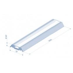 Clips diffuseur bleu pour support 3m - I600401