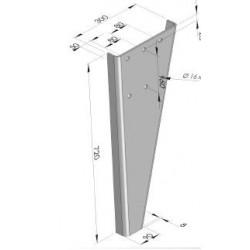 Pare-chocs acier - I652360