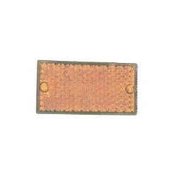 Catadioptre Rectangle Orange - I101091