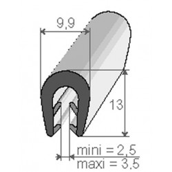 Profils Clips - F300010