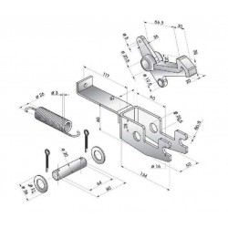 Decrochage automatique pour 3,5 T - K150100