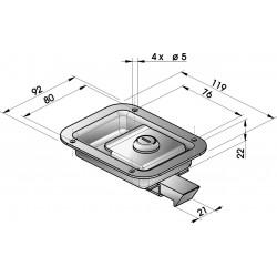 Fermetures de coffre - G450200