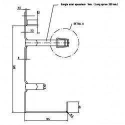 Support extincteur 3kg - I800310