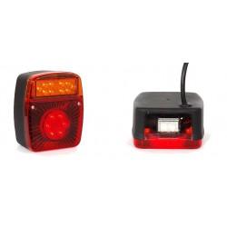 Gamme Lanternes à LEDS pour remorques bagagères