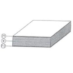 Panneau de porte pour VUL Ep17mm 2500x1200mm - D351130