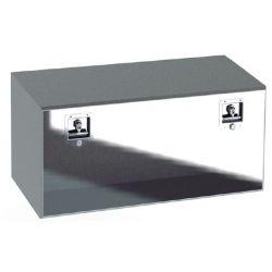 Coffres Acier Inox Porte Polie 600x400x400 - A150601