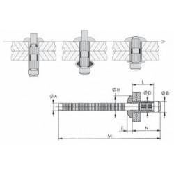 Rivet de structure - H100114