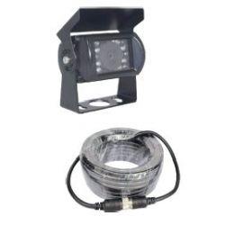 Kit caméra de recul couleur moniteur 16/9 + caméra + câblage -I950255