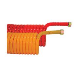 Flexible spiralé pneumatique Rouge -I400120