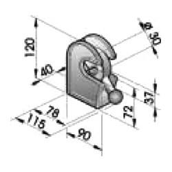 Gond – penture – fermeture - K100210