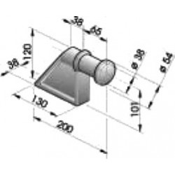 Gond – penture – fermeture - K100221
