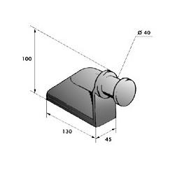 Gond – penture – fermeture - K100241