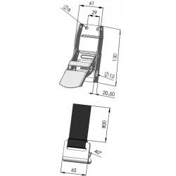 BOUCLE BAS DE RIDEAU - T601010