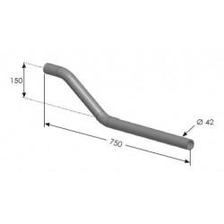 Support d'aile déporté Ø34 mm- C300165