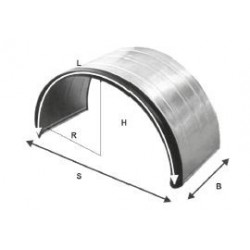 Aile métallique - C100110
