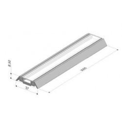 Clips diffuseur translucide pour support 3m - I600400