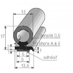 Coulisses de Glace - Profils Bi-Dureté - F200010