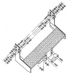 Attelages - MERCEDES 200 / 300 / 400D Fourgon - Q000273