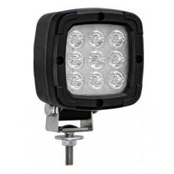 Phare de travail Noir à LEDS Sur Tige - I060040