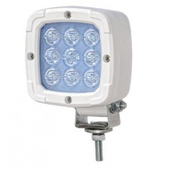 Phare de travail Blanc à LEDS Sur Tige - I060041