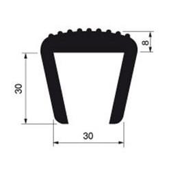 Protection PVC Ep30mm / L3.5m - G800010