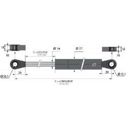 Compas à gaz - Tige de 14 - J140125