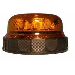 Gyrophare 8 LEDs Base plate 9W - I000208