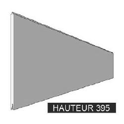 Panneaux mélaminé blanc 395mm - T990070