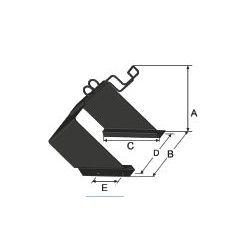 Support de cale de roue - P550320