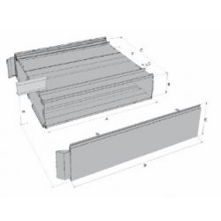 Coffre à palettes sans toit (30 palettes)-A550110