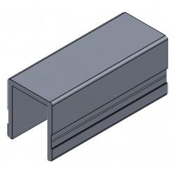 D800510 - PROFIL ALU ENCADR.Brut 30.5mm