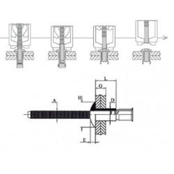 H100201C100 - MONOLOCK TP4.8 L14.0 - AC/AC (QTE 100)