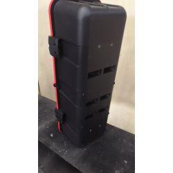 COFFRE A EXTINCTEUR 9/12KG - A450251 ROUGE- Percé à l'arrière pour fixation