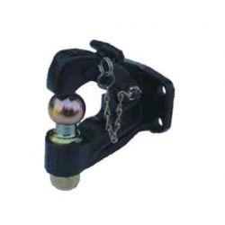 CROCHET MIXTE 4 TROUS Ø17mm Entraxe 90x40/ Pour anneaux 42x68:42x78-Q050115